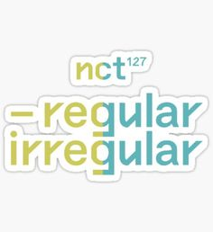 Pop Stickers, Tumblr Stickers, Printable Stickers, Bullet Journal Font, Journal Fonts, Nct 127, Nct Logo, Kpop Logos, Overlays