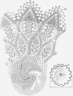 Sophisticated Crochet Doily - Page 3 of 3 - Crochet Filet