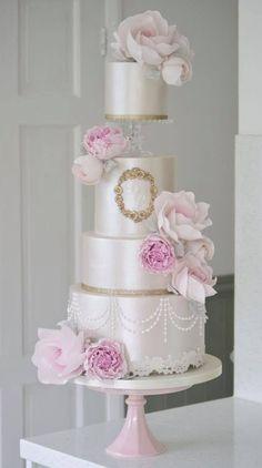 Featured Cake: Cotton & Crumbs; www.cottonandcrumbs.co.uk; Wedding cake idea.