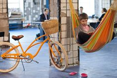 Love this photo. Coworking in Russia!