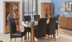 Get promotional Oak dining set. Extending Table and Six Chairs Only: Oak Dining Sets, Dining Furniture, Conference Room, Chairs, Table, Home Decor, Decoration Home, Room Decor, Dining Room Furniture