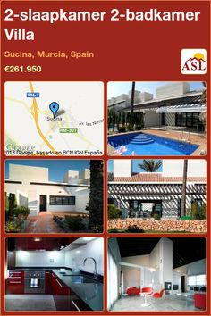 2-bed 2-bath Villa in Sucina, Murcia, Spain ►€261,950 #PropertyForSaleInSpain