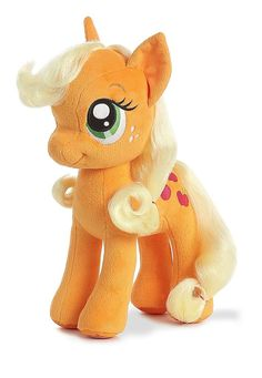 My Little Pony Applejack 13 in. Plush Toy from Aurora World.  Such a soft plush!