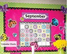 TCR Chevron Cutesy Calendar