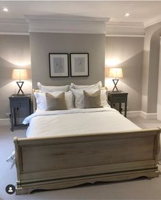 Thanks for all the love on this room from my stories last week. I haven't shown it before as it needed the wardrobes built and some… Master Bedroom Interior, Home Decor Bedroom, Bedroom Ideas, Bedroom Inspo, Bedroom Inspiration, Interior Inspiration, 1930s Bedroom, Victorian Bedroom, Edwardian House