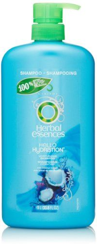 Herbal Essences Hello Hydration Moisturizing Shampoo 338 Fl Oz >>> Click image for more details.Note:It is affiliate link to Amazon.