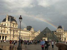 Rainbow in Paris.
