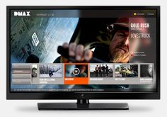 Discovery Networks / DMAXSmart TV app design