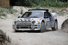 Ford RS200: Made to drive sideways and leap through the air, ugly enough to hit a few rocks along the way. Ridiculous fun.