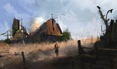 Fortune faded by Ismail Inceoglu | Sci-Fi | 2D | CGSociety