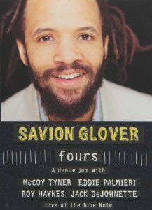 Fours: Savion Glover. Savion Glover showcases his musical side by jamming with jazz royalty. Includes interview footage and four separate jams, one each with McCoy Tyner, Eddie Palmieri, Roy Haynes, and Jack DeJohnette. Link to library catalog: https://mplus.mnpals.net/vufind/Record/007865783