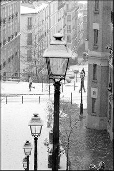 Scène d'hiver, Montmartre