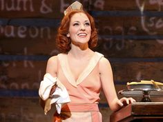 Laura Osnes -- Bonnie & Clyde This woman is my idol and has been for a long time and this is my ultimate dream role. Bonnie And Clyde Musical, Bonnie Clyde, Musical Theatre Broadway, Broadway Shows, Laura Osnes, Bonnie Parker, Theatre Geek, Les Miserables, My Idol