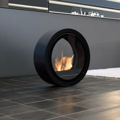 Designer Pureflame Fireplaces by A Touch of Modern Modern
