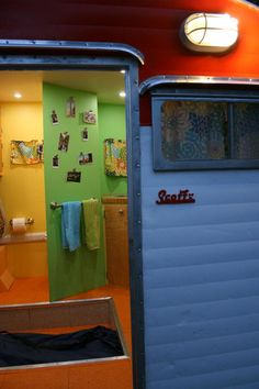 awesome set of photos showing the complete breakdown and rebuild of a vintage 1965 Serro Scotty Sportsman camper