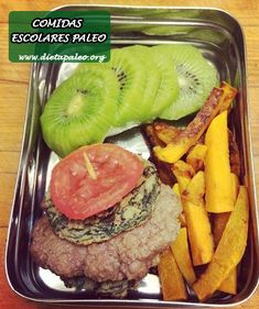 Comidas Escolares Paleo - Dieta Paleo
