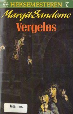 """Vergeløs"" av Margit Sandemo Fantasy Romance, Occult, Nostalgia, Comic Books, Comics, Reading, Movie Posters, Film Poster, Reading Books"