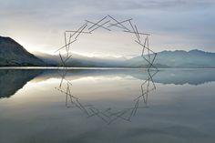 Martin Hill y Philippa Jones, Autumn Leaf, Synergy - Fotografías de esculturas efímeras creadas con la belleza de la naturaleza | The Creators Project