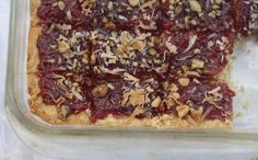 Diary of a Locavore: RASPBERRY SHORTBREAD // the local food report