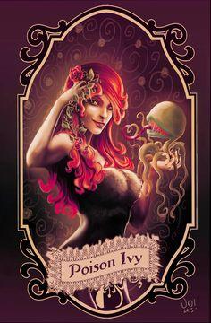 Poison Ivy by elprofheta.deviantart.com on @DeviantArt - More at https://pinterest.com/supergirlsart/ #poisonivy #dccomics