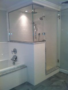 Bathroom Remodel Ideas With Stand Up Shower one idea for my smaller bathroom in the bg house. this would help