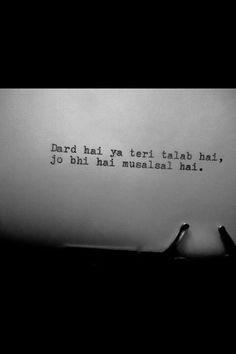 Teri yaadon ke karz se he meri zindagi kat rhi hai. Poetry Hindi, Hindi Words, My Poetry, Dear Diary Quotes, Love Me Quotes, Mixed Feelings Quotes, Poetry Feelings, Bible Verses Quotes, Poetry Quotes