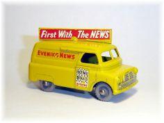 Matchbox 42a Bedford Evening News Van (1957)