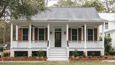 Looking for the best house plans? Check out the Old Bethel plan from Southern Living. Porch House Plans, Cottage Floor Plans, Lake House Plans, House Plans One Story, Craftsman House Plans, Best House Plans, Modern House Plans, Small House Plans, One Floor House Plans