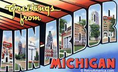 Greetings from Ann Arbor