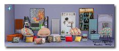 Koposov's Office Set Recolors at Msteaqueen via Sims 4 Updates