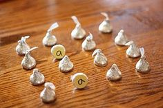 Silver Bells Memory game! If you get a match you get to eat it????