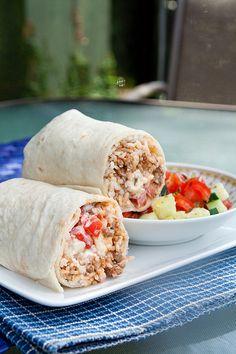 greek burritos