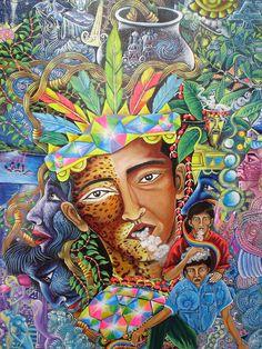 Pablo Amaringo Historical Visionary Art Icons of Peru