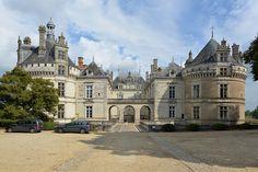 Château du Lude, Sarthe, Pays-de-la-Loire