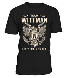 Team WITTMAN Lifetime Member