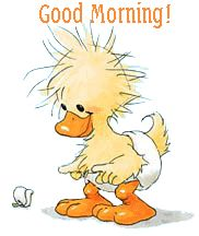 Animated Good Morning | good-morning-duckling-ag1.gif
