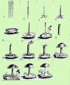 theperanakanconnection: How to make decorative mushrooms for the garden - theperanakanconnection: How to make decorative mushrooms for the garden Estás en el lugar correcto - Cement Art, Concrete Crafts, Concrete Art, Concrete Projects, Concrete Garden, Concrete Design, Pierre Decorative, Concrete Leaves, Concrete Sculpture