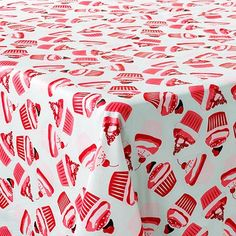 Vinyl Cupcake Tablecloth, Yes Please!