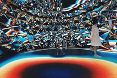 <p>Hong Kong based studio XEX created an interactive installation Prismverse for skincare brand Dr. Jart in Shanghai. As XEX's latest creation, the project offers immersive experience using complex mirror wall, bright colours and light beams. The highlight of the installation is a 10 meter-long LED floor and the complex mirror wall which reflects the lights.…</p>
