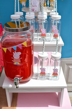 Rachel J Special Events: It's a Peppa and George kinda party!