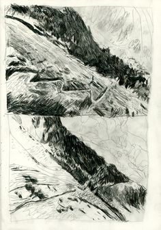 MASSIF DE BELLEDONNE - benoit guillaume illustration