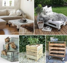 I love pallet furniture just need the pallets