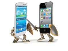 Apple, Samsung'a Fark Attı