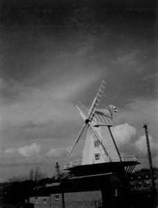 The windmill in Rye by the harbour.