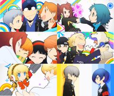 Persona Q - why is it that in every persona q picture I've seen Shinjiro looks really freaked out at everything?