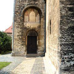 """#kunst #kirchenkunst #kunsthandwerk #kirche #church #halberstadt #portal #fresko"""