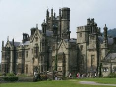 Front view of Margam Castle                                                                                                                                                     More