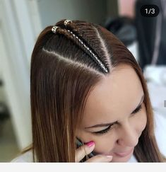 Hairstyle with braids Baddie Hairstyles, Girl Hairstyles, Braided Hairstyles, Hair And Skin Vitamins, Natural Hair Styles, Short Hair Styles, Girl Hair Dos, Shaved Hair Designs, Hair Color For Women