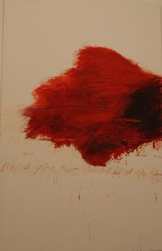 like a fire that consumes all before it  #cy twombly