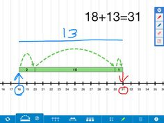 Free Number Line App by the Math Learning Center